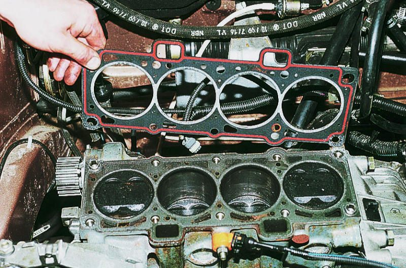 Фото №20 - замена прокладки головки блока цилиндров ВАЗ 2110