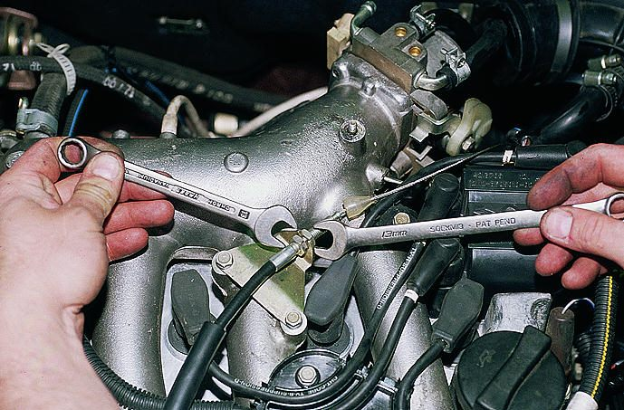 Фото №14 - дроссельная заслонка ВАЗ 2110 ремонт