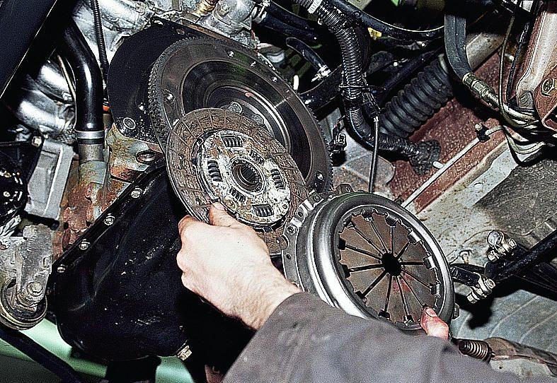 Фото №5 - ремонт сцепления ВАЗ 2110