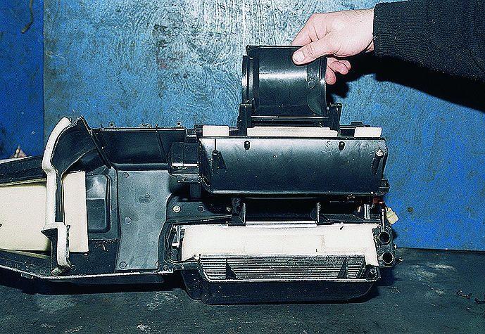 Ваз 2110 ремонт своими руками печку фото