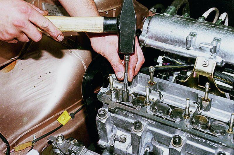 Фото №12 - замена направляющих втулок клапанов ВАЗ 2110