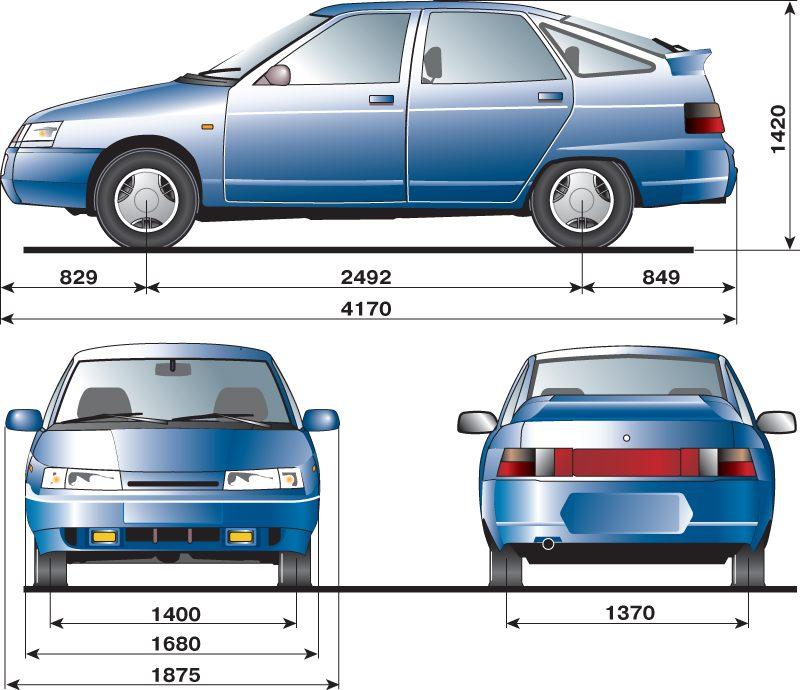 об автомобилях ВАЗ 2110,